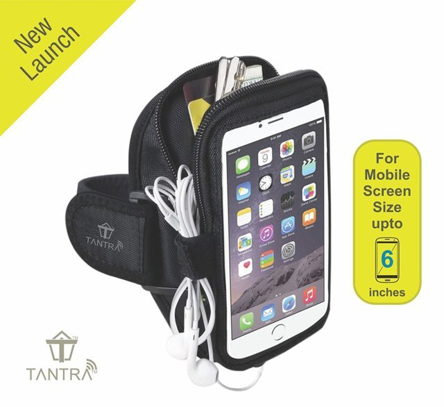 TANTRA® Mobi-Case Adjustable Sports Running, Jogging, Gym A...