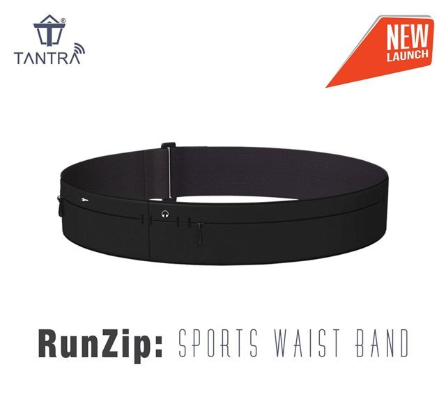 Tantra RunZip: Sports Waist Band, Running Belt, Gym Mobile ...