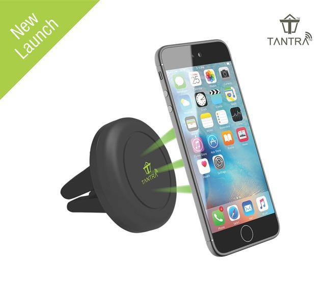 Tantra Universal Smartphone Magnetic Car Mount Air Vent Hol...