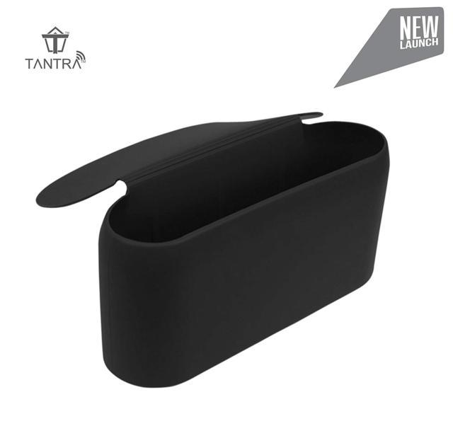 Tantra Smart Universal Portable Silicone Car Mini Dustbin T...