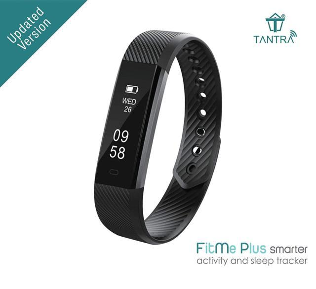 Tantra FitMe Plus Smart Band Activity Fitness Tracker with ...