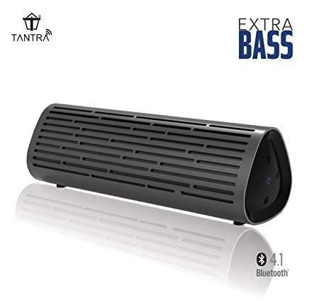 Tantra Thunder Bluetooth Portable Wireless Speaker with Ric...