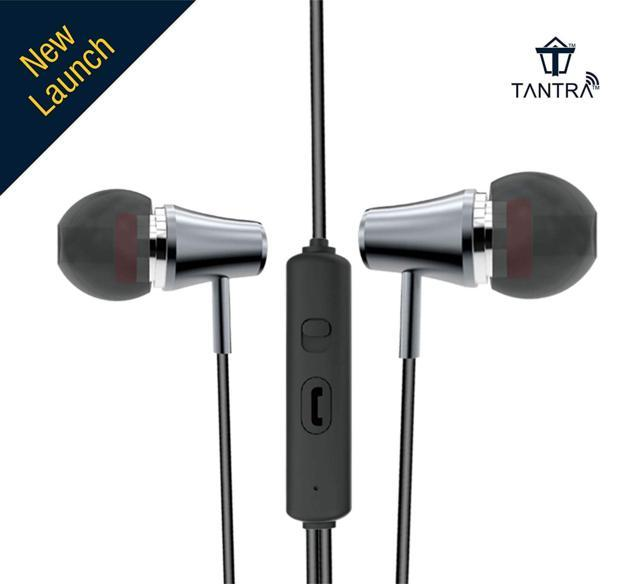 TANTRA Trumpet T-600 Premium Wired Super Bass in-Ear Earpho...