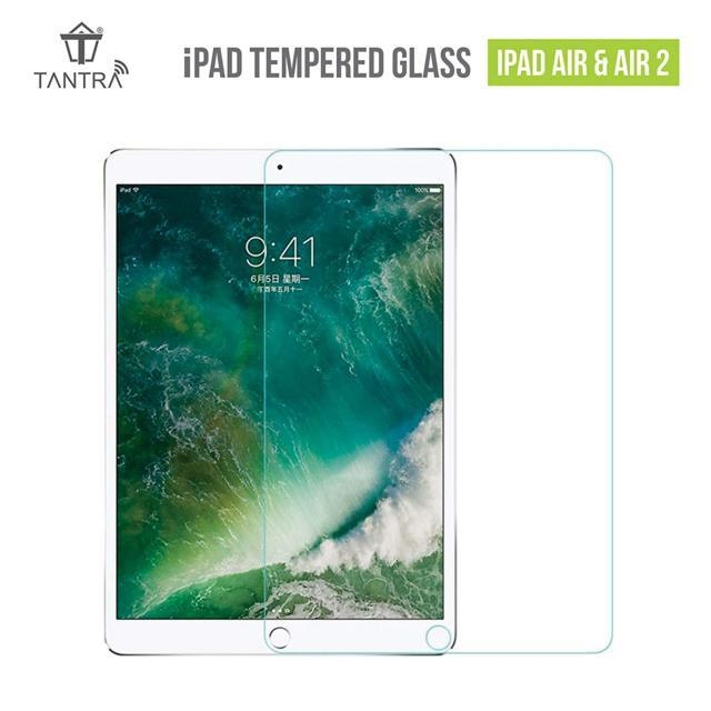 TANTRA - iPad Tempered Glass Screen Protector + Apple Penci...