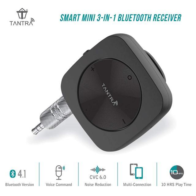 Tantra Smart Mini 3-in-1 Bluetooth Receiver for Stereo, Mag...