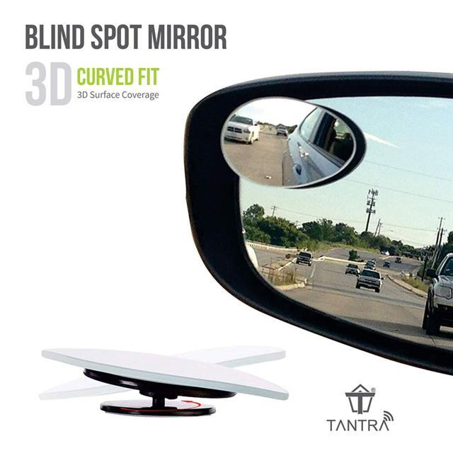 Tantra Ampper HD Glass Convex Fan Shape 360 Degree Rotate S...