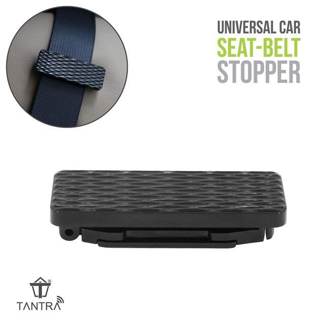 TANTRA Seat Belt Stopper Car Seat Belt Adjuster, Seatbelt C...