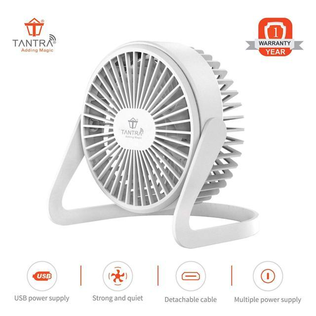 TANTRA Wave Portable Mini USB Cooling Fan for Office Home O...
