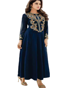 Georgette Long party wear kurti