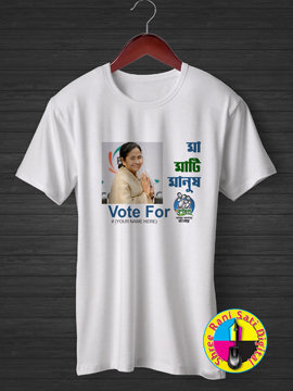Maa Maati Manus vote for Trimul T-shirts